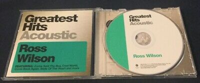 Ross Wilson Greatest Hits Acoustic CD 2012 Liberation Mondo Rock Daddy Cool