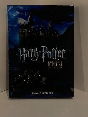 Harry Potter Complete Film Collection - Usa - 8-Dvd Box Set