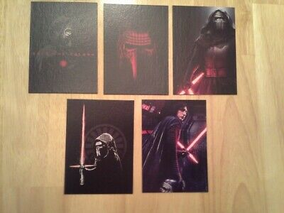 Topps Star Wars Journey to The Rise of Skywalker Kylo Ren Continuity set