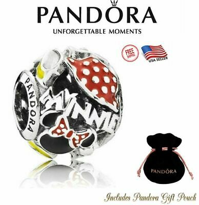 New Authentic S925 Pandora Disney Park Exclusive Minnie Mouse Body Parts Bead