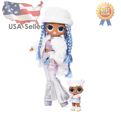 LOL Surprise! OMG Winter Disco Snowlicious/ Snow Angel Fashion Doll *In Hand*