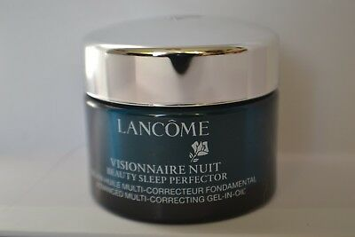 Lancome Visionnaire Nuit Beauty Sleep Perfector gel-in-oil travel size 15ml