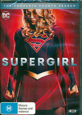 Supergirl The Complete Fourth Season Four 4 DVD NEW Region 4