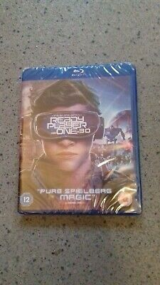 Ready Player One [Bluray 3D+2D+Download] New & Sealed