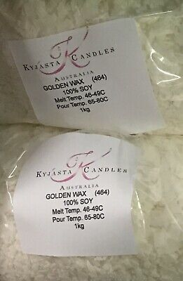 SOY WAX 100% Natural  FOR CANDLES MAKING  1kg Bag