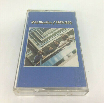 The Beatles 1967-1970 Cassette Tape Capital Records Blue Album Hits (cassette 1)