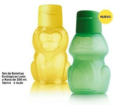 2 Botellas Infantil 350 ML.  Tupperware