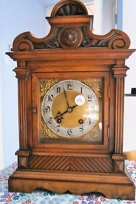 Walnut Ting Tang Bracket Clock G.W.O.