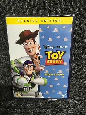 Disney Pixar Toy Story Special Edition UK R2 DVD New Factory Sealed . Freepost