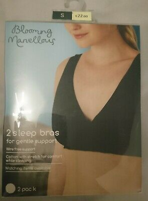 MOTHERCARE BLOOMING MARVELLOUS NON-WIRED MATERNITY/NURSING SLEEP SUPPORT Bra