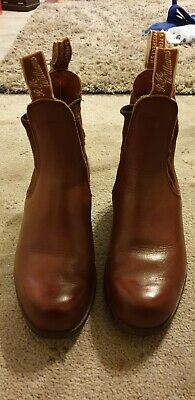 Rm williams ladies boots Size 5G
