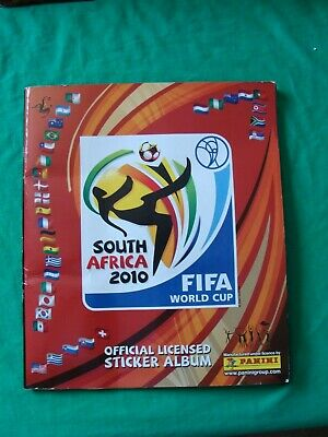 Panini South Africa 2010 Fifa World Cup Album & Stickers Almost Complete