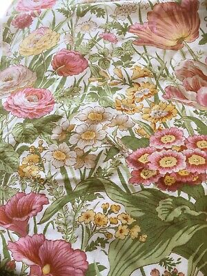 New Sanderson Cotton Fabric  Time Was 5.4 Metres.