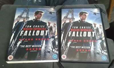 Mission: Impossible - Fallout [DVD] [2018] REG 2 WITH BOX COVER