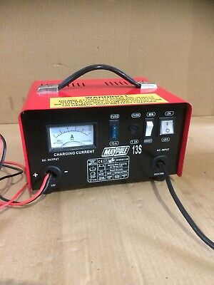 maypole battery charger. 12v. 13S. Car With Boost.