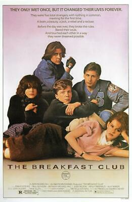 The Breakfast Club -Us 1985 Movie Poster Canvas Picture Art Wall Decore