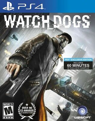 WATCH DOGS PS4 Game PlayStation 4 PAL Fast Post UK