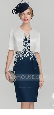 JJ's HOUSE MOTHER OF THE BRIDE /GROOM Dress And Jacket UK18 Brand New!!