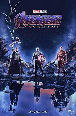 Avengers Endgame 44 Poster Movie Poster Canvas Picture Art Wall Decore