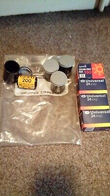 Kodak Color Plus Film 200 35mm x 4 plus 3 Boots Universal 24  plus 1 superdrug