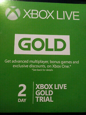 Xbox Live Gold 48 Hour (2 Day) Trial Digital Code