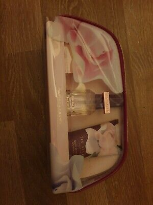 Ted Baker Bag With Body Spray Body Lotion & Lip Balm