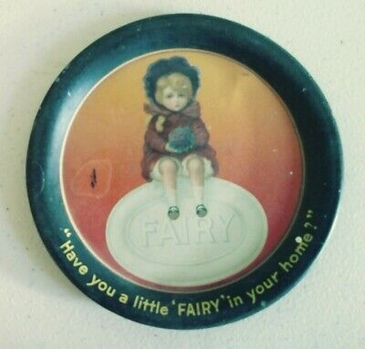 Antique/Vintage Advertising Soap Tray 'Have you a little 'FAIRY' in your home'