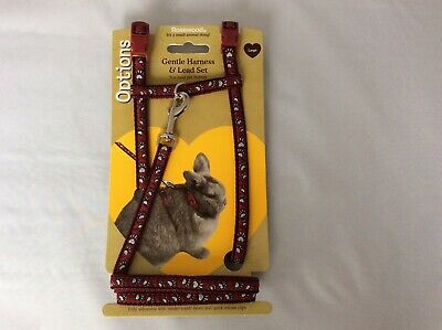 New Rosewood Small Animal Harness For Rabbit