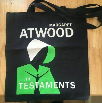 Margaret Atwood The Testaments promo tote bag