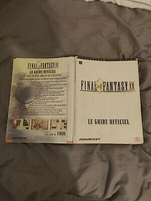 Guide stratégique  FINAL FANTASY  IX  9   guide officiel complet en VF