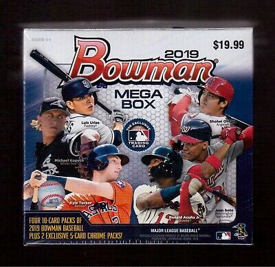 2019 Topps Chrome Update Series Factory Sealed Mega Box *Live Quick Shipping*