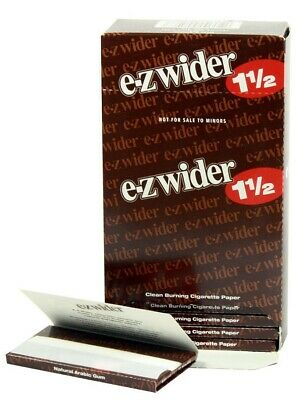 EZ-WIDER 1 1/2 Rolling Papers 24 PK