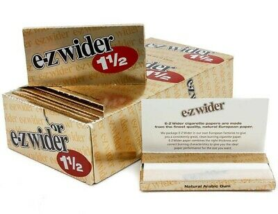 EZ-WIDER Gold 1 1/2 Rolling Papers 24 PK