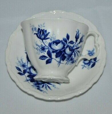 "Beautiful Vintage Royal Albert, ""Connoisseur"" Bone China, Teacup & Saucer"