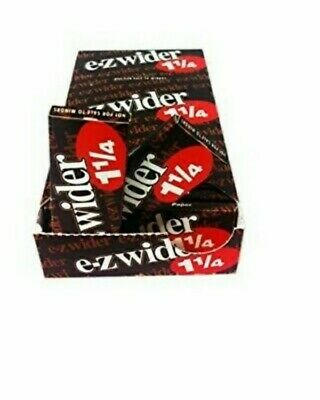 EZ-WIDER 1 1/4 Rolling Papers 12 PK