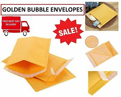 Arf4 - Arf2 Arofol Genuine Gold Bubble Padded Envelopes Mailers Bags