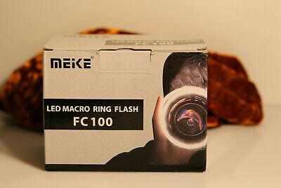 Meike FC-100 Ring Light/Macro Flash For DSLR Cameras
