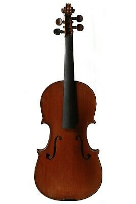 OLD Antique FRENCH VIOLIN 1894 LABELLED and STAMPED JTL 4/4