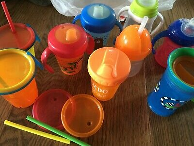 Assorted Sippy Cups (Lot of 10)