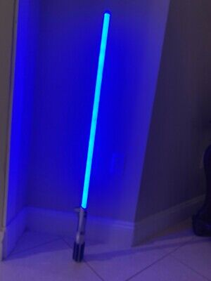Anakin Skywalker Star Wars Master Replicas 2005 force FX lightsaber with box +