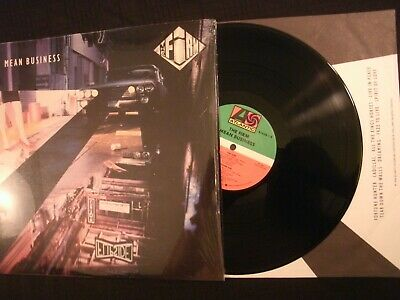 The Firm - Mean Business - 1986 Vinyl 12'' Lp./ Shrink Exc./ Prog Hard Rock