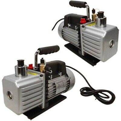 2 Stages 13HP Electric Rotary Vane Vacuum Pump 2.5CFM