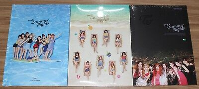TWICE SUMMER NIGHTS 2nd Special Album ALL Ver. CD + PHOTOCARD SEALED