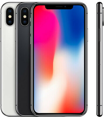 Apple iPhone X 64GB GSM Unlocked- All Colors- Great Condition