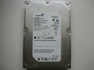 APPLE GALXA 750GB SEAGATE BARRACUDA 7200.10 ST3750640AS SATA HARD DRIVE 655-1336