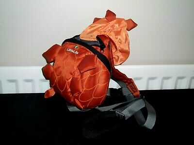 Little Life Dinosaur Backpack With Reins And Hood