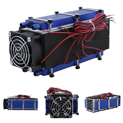 Air Cooling DC12V 576W Pet Bed 8-Chip Refrigeration Thermoelectric Cooler Tool