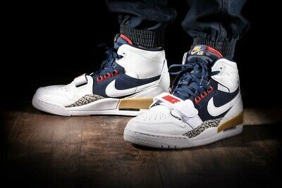 Nike Air Jordan Legacy 312 Dream Team uomo Bianco
