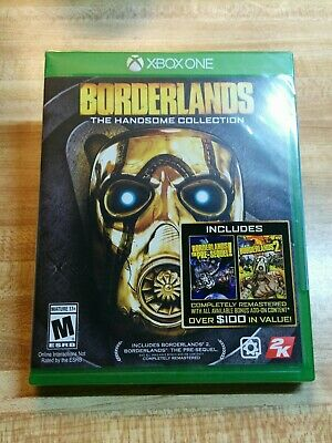 Borderlands: The Handsome Collection Xbox One Brand New Sealed