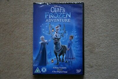 Disney Olaf`s Frozen Adventure   New Sealed Genuine Uk Dvd